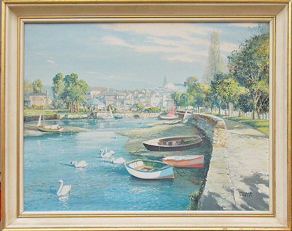 Kingsbridge Devon painting
