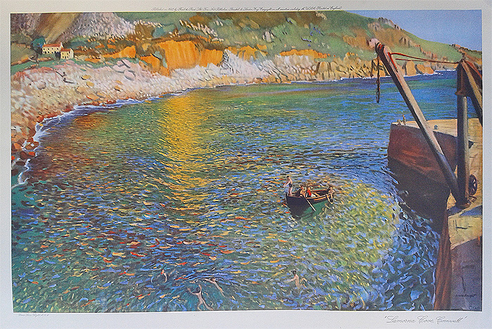 Lamorna Cove - fine art print by Dame Laura Knight