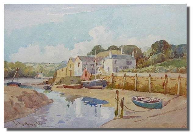 Mortimer Kingsbridge painting